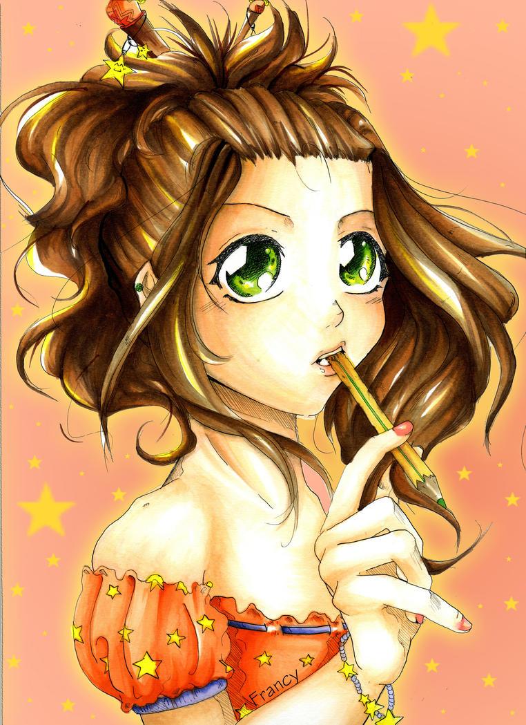 Me in manga style 2 by Arashy-Chan