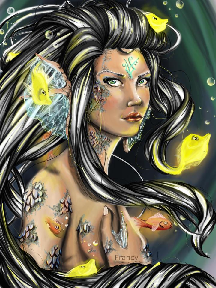Madame fish