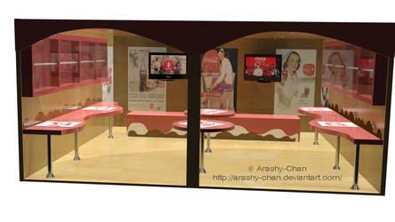Coca-Cola Stand by Arashy-Chan