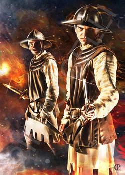 Soldiers of Lucca militia