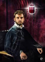 Portrait of Francesco Burlamacchi by pierolucca