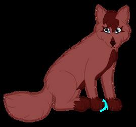 Rose (Zenni x Starix Hypothetical Pup) by QueenofWolftria