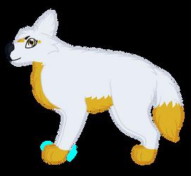 Guenevere (Zenni x Starix Hypothetical Pup) by QueenofWolftria
