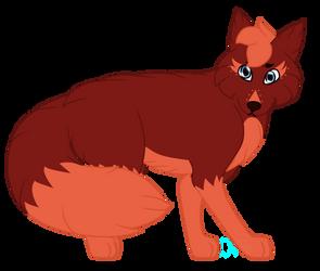 Julius (Zenni x Starix Hypothetical Pup) by QueenofWolftria