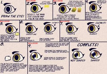 How I Draw Eyes! by QueenofWolftria