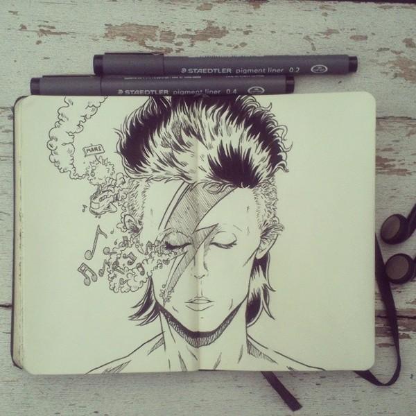 #8 Happy Birthday David Bowie by Picolo-kun