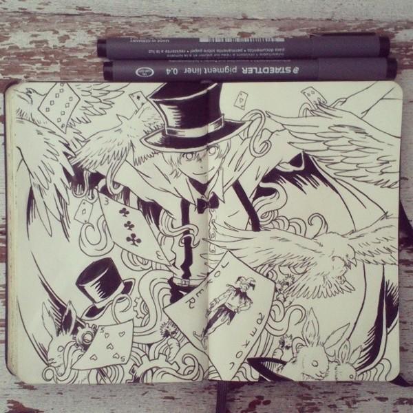 #16 Abracadabra by 365-DaysOfDoodles