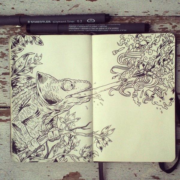 #18 Art Attack by Picolo-kun