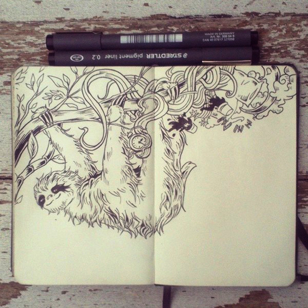 #20 Plenty of Sleep by Picolo-kun