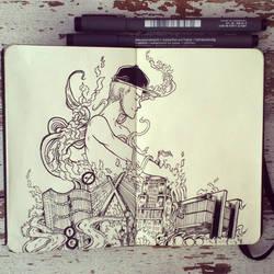 #25 I am the city by Picolo-kun