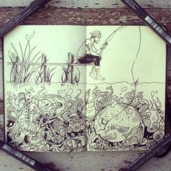 #29 What lurks below by Picolo-kun