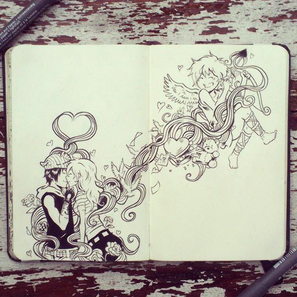 #45 Be my valentine by Picolo-kun