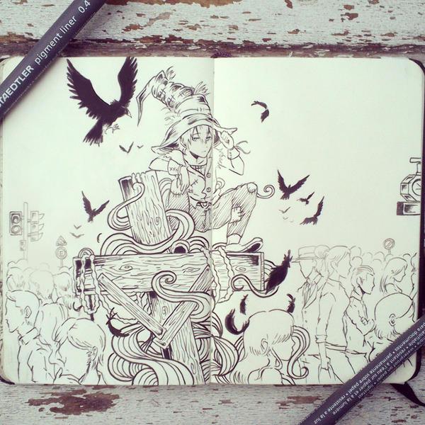 #46 Scarecrow by Picolo-kun
