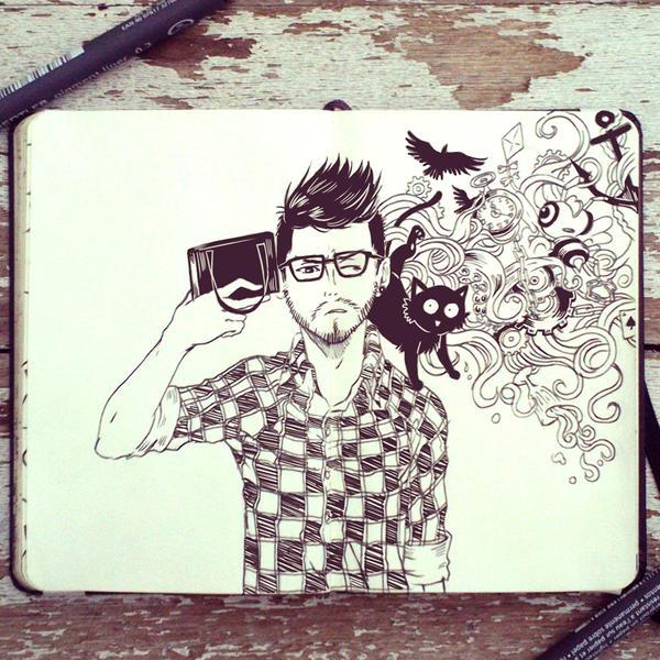 #54 Selfie by Picolo-kun