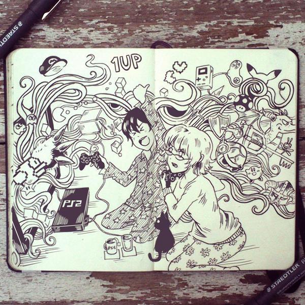 #55 Gamers by Picolo-kun