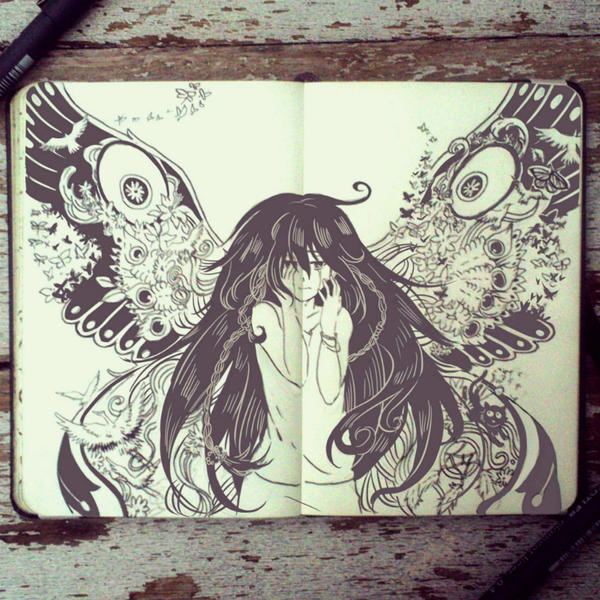 #58 Unseen Beauty by 365-DaysOfDoodles