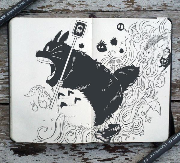 #68 My Neighbor Totoro by Picolo-kun