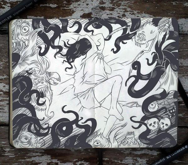#70 In the Dark of the Night by Picolo-kun
