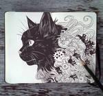 #80 Familiar Black Cat by Picolo-kun