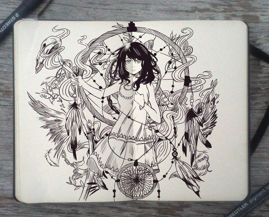 #91 Dreamcatcher by Picolo-kun