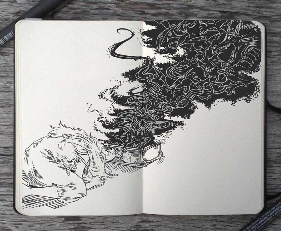 #93 Pandora Box by Picolo-kun