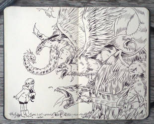 #107 Mythical Creatures by Picolo-kun