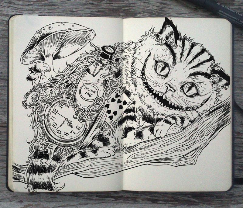 130 Cheshire Cat By Picolo Kun On Deviantart