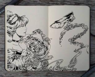 #136 Cinderella by Picolo-kun