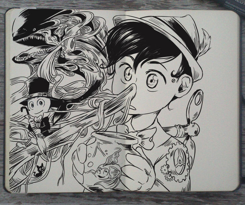 #138 Pinocchio By Picolo-kun On DeviantArt