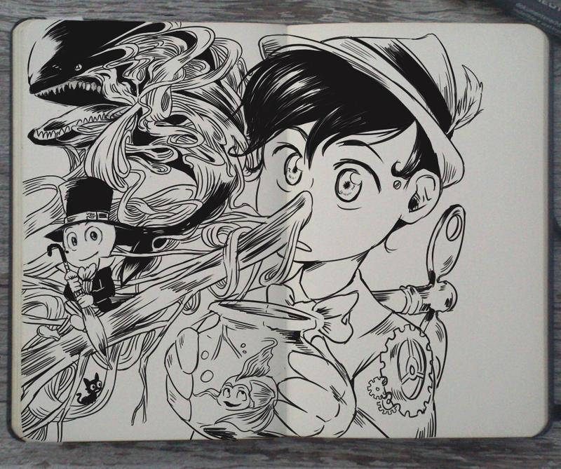 #138 Pinocchio by Picolo-kun