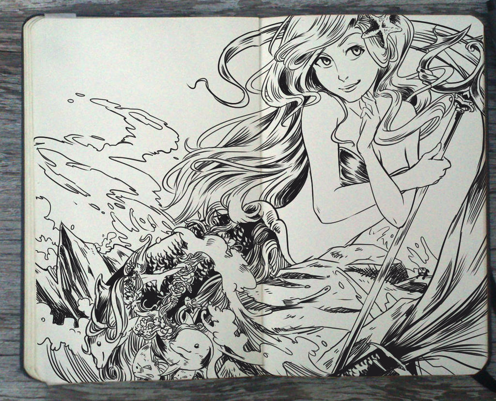 #141 The Little Mermaid by Picolo-kun