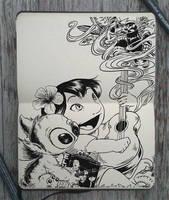 #150 Lilo and Stitch by Picolo-kun