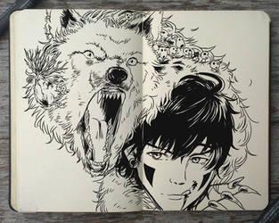 #159 Prince Mononoke by Picolo-kun