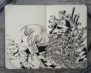 #160 Moving Castle's new owner by Picolo-kun