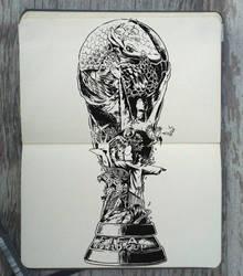 #163 Brazil World Cup by Picolo-kun