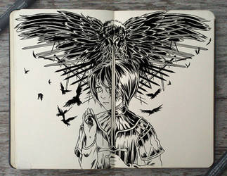 #166 A Feast for Crows by Picolo-kun