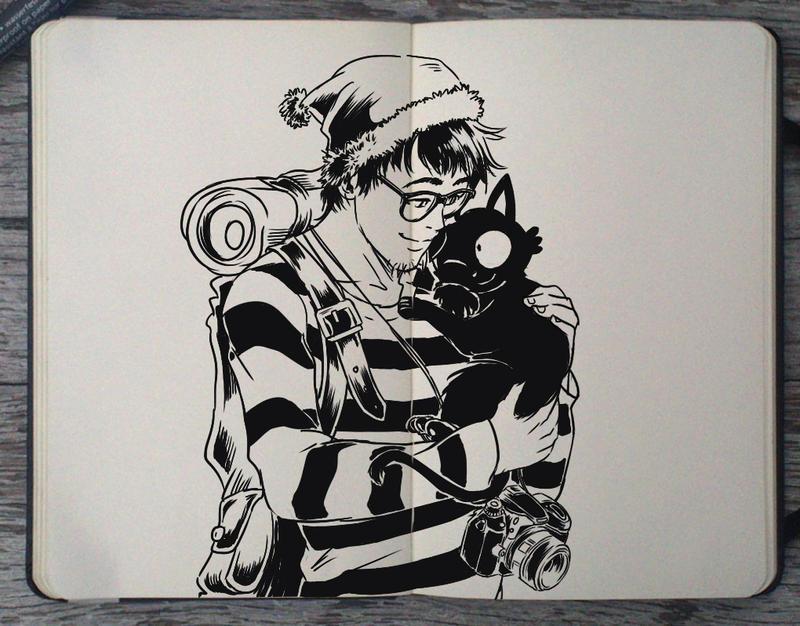 #181 Hide and Seek by Picolo-kun