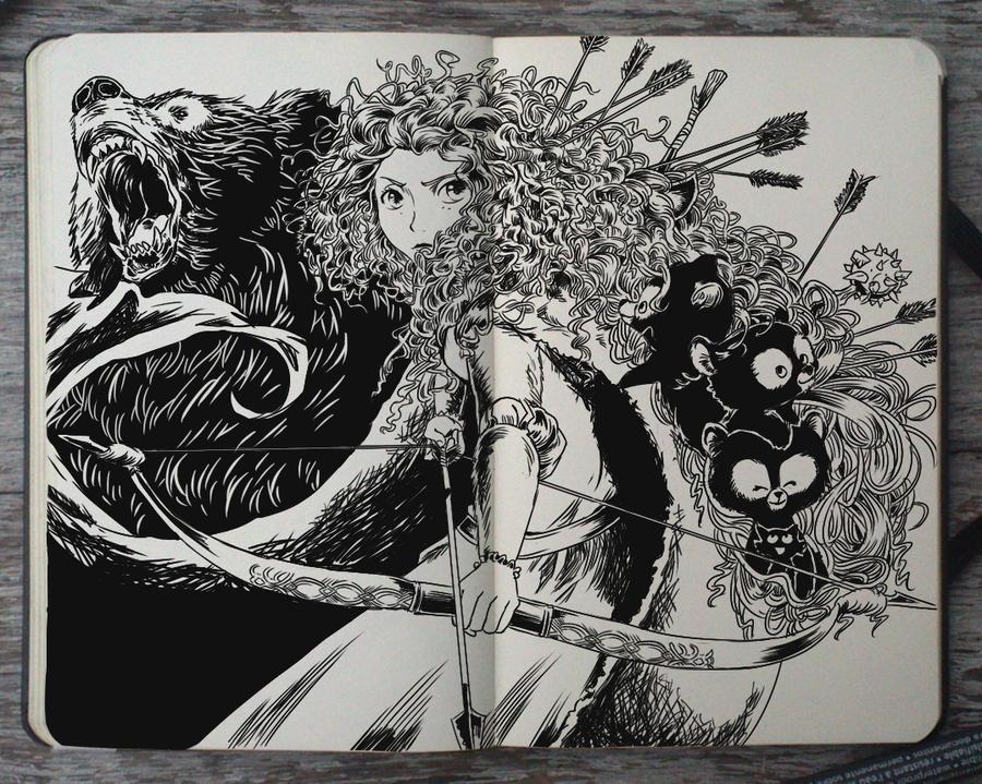 #183 Brave by Picolo-kun