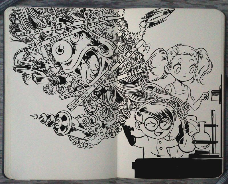 #196 Dexter's Laboratory by Picolo-kun