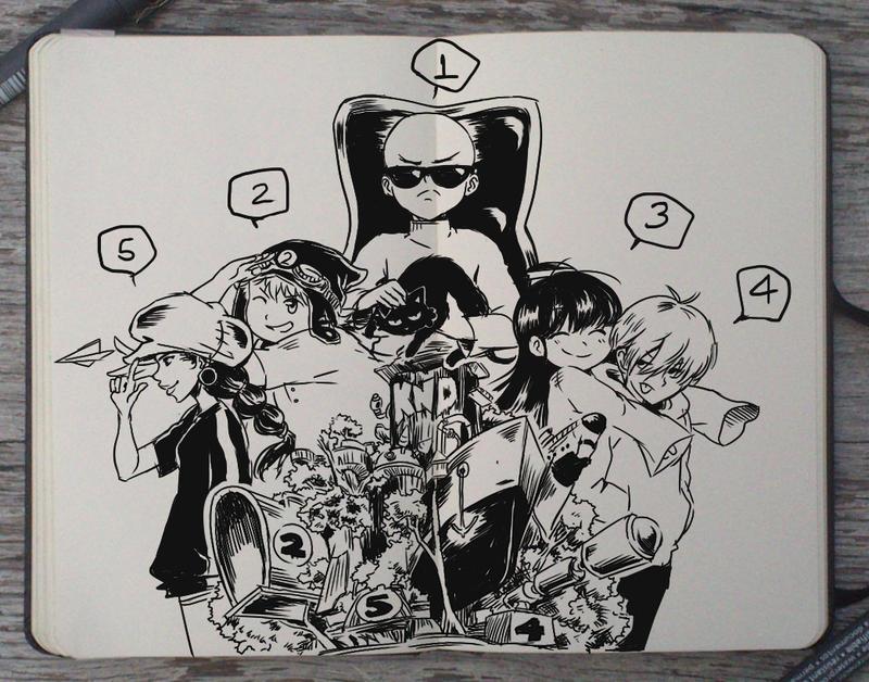 #197 Kids Next Door by Picolo-kun