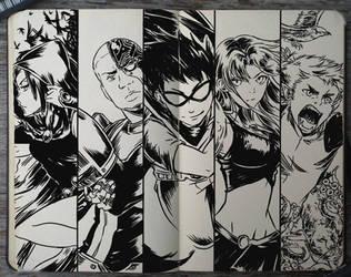 #199 Teen Titans by Picolo-kun