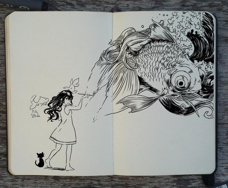 220 Sketch Your Ideas By Picolo Kun