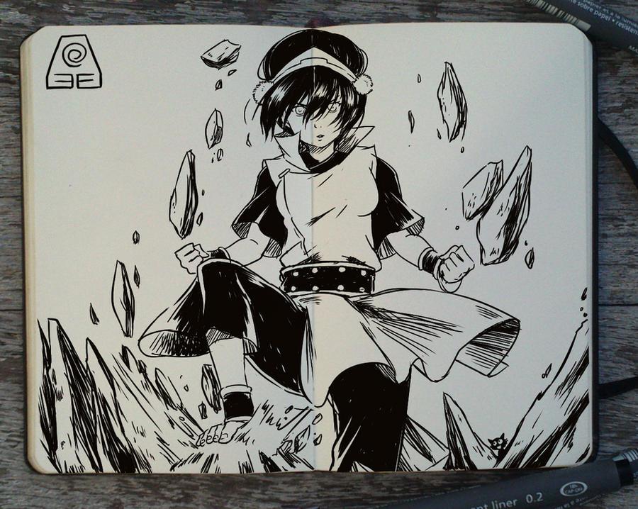 #224 Avatar Book Two: Earth by Picolo-kun