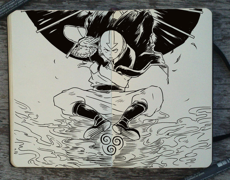#226 Avatar the Last Airbender by 365-DaysOfDoodles