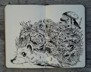 #232 Flower Hedgehog