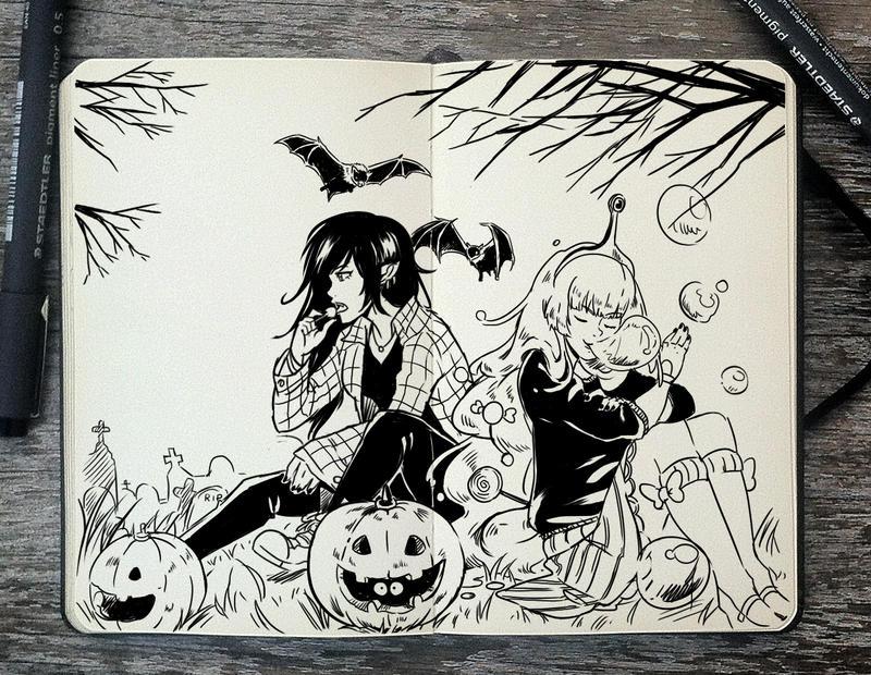 #248 Vampires and bubblegums by Picolo-kun