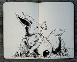 #276 Eevee by Picolo-kun
