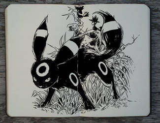 #288 Umbreon by Picolo-kun