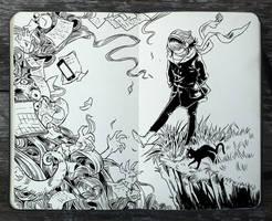#296 Mind the Gap by Picolo-kun
