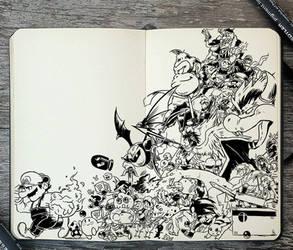 #300 Super Smash Bros by Picolo-kun